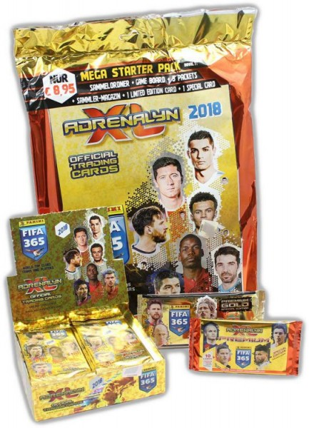 Panini FIFA 365 2018 Adrenalyn XL Trading Cards - Premium-Bundle