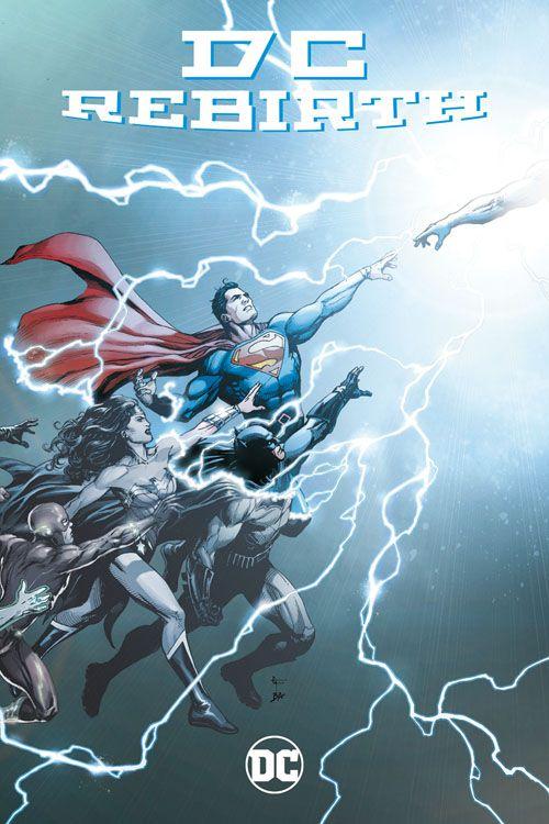 DC Rebirth: Die Wiedergeburt des...