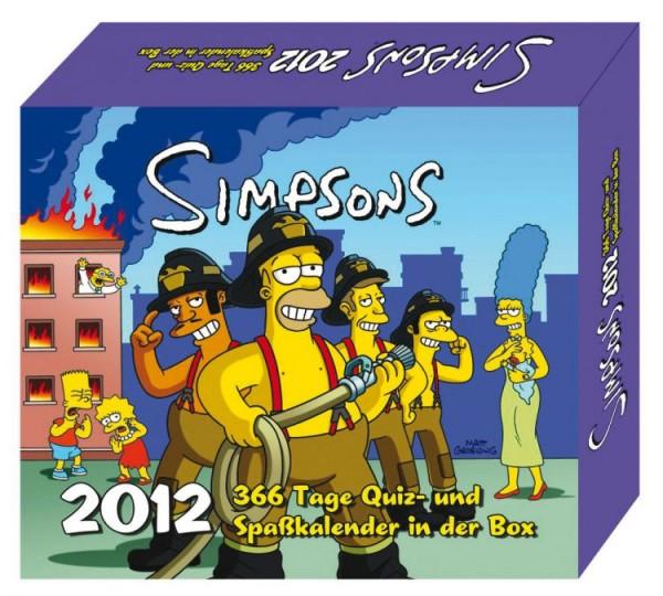 Simpsons 366 - Tageskalender (2012)