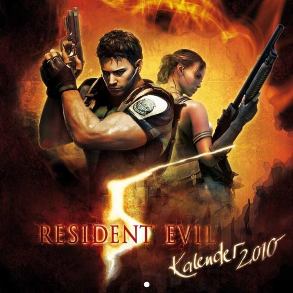 Resident Evil 5 - Wandkalender (2010)