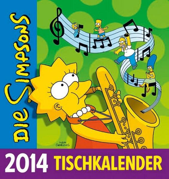 Simpsons - Tischkalender (2014)