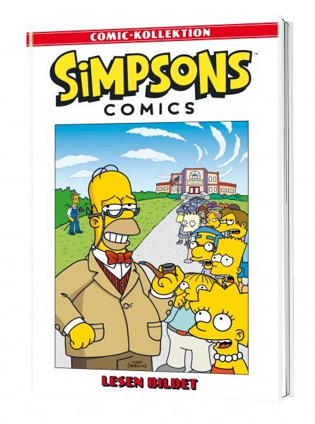 Simpsons Comic-Kollektion 39: Lesen bildet