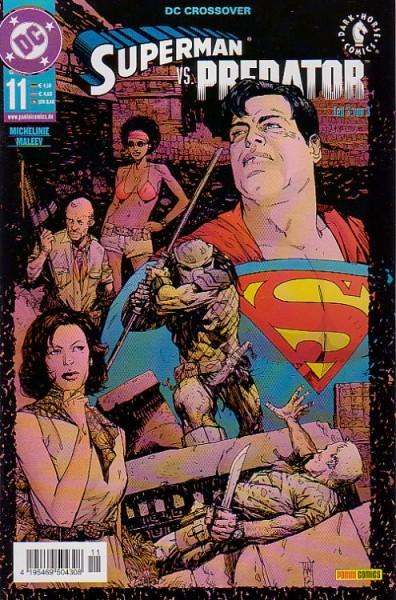 DC Crossover 11: Superman vs. Predator 3