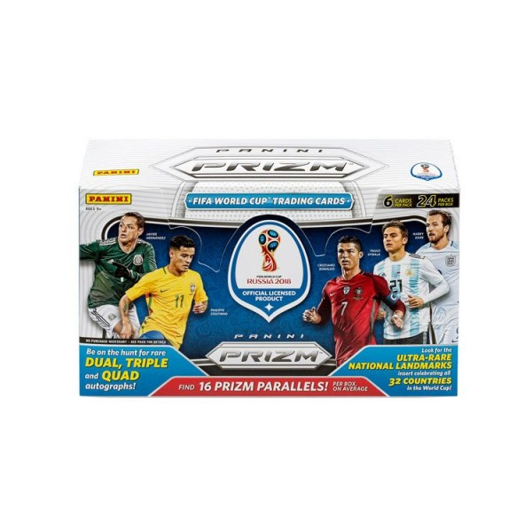 Panini PRIZM World Cup Soccer 2018 Trading Cards - Hobbybox