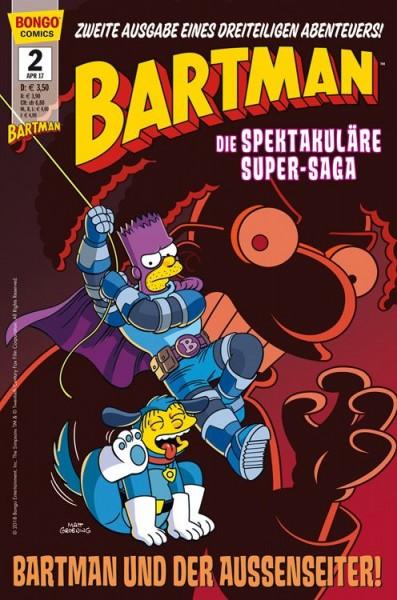 Simpsons Comics präsentiert: Bartman Trilogie 2