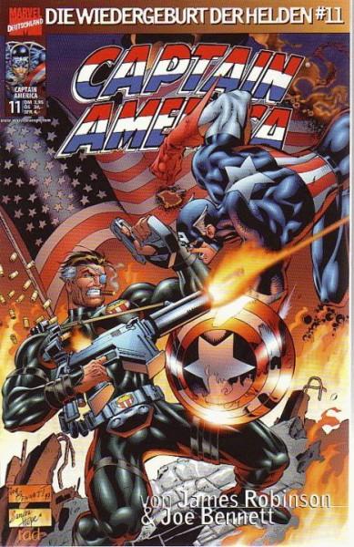Captain America: Die Wiedergeburt der Helden 11
