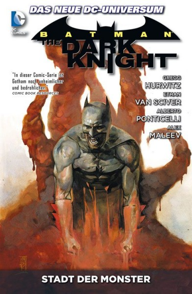 Batman: The Dark Knight Paperback 4: Stadt der Monster Cover