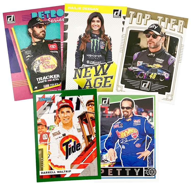 Donruss Racing 2020 - Abbildung Cards