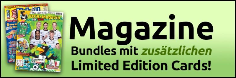 UEFA EURO 2020 Adrenalyn XL - Magazine - Bundles mit zusätzlichen Limited Edition Cards!