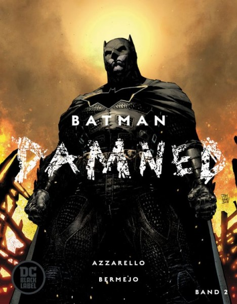 Batman Damned 2 Variant Cover