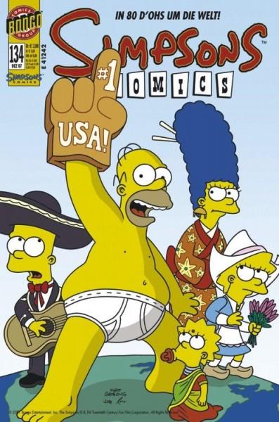 Simpsons Comics 134