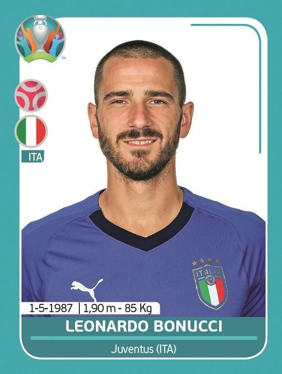 UEFA EURO 2020 Official Sticker Preview Collection - Leonardo Bonucci
