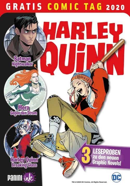 Joker/Harley: Psychogramm des Grauens – Blick in den Comic