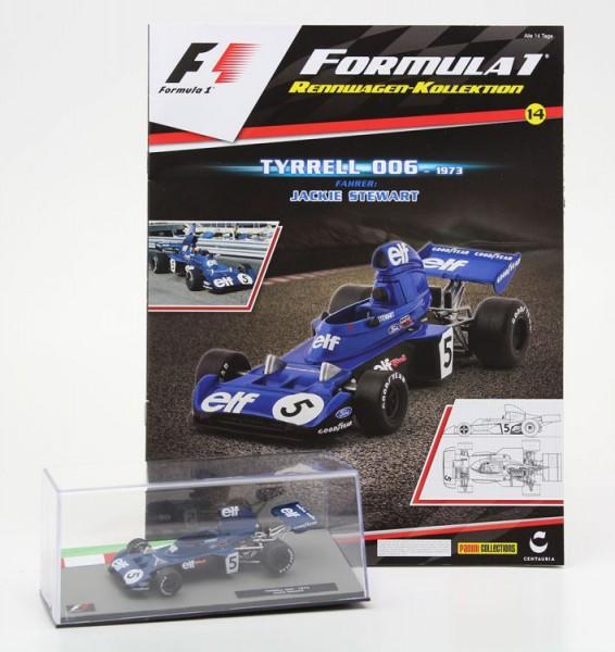 Formula 1 Rennwagen-Kollektion 14 - Jackie Stewart (Tyrrell 006)
