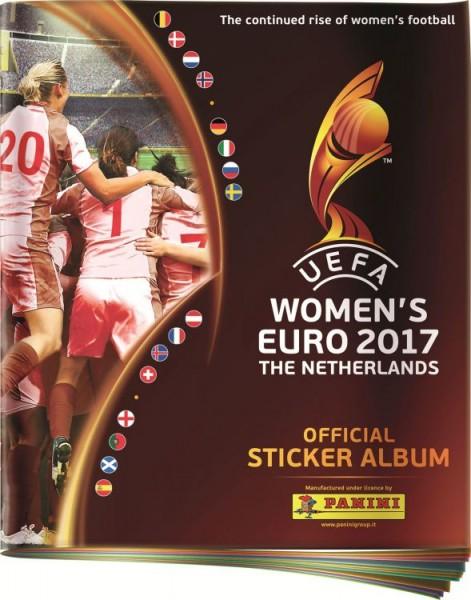UEFA Women's Euro 2017 Stickerkollektion zur Fußball Europameisterschaft der Frauen - Album