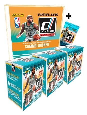 NBA 2018-2019 DONRUSS Trading Cards - Triple-Pack
