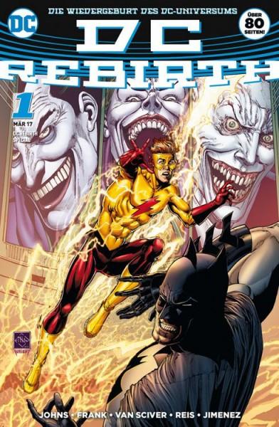 DC Rebirth Special: Die Wiedergeburt des DC-Universums Variant A