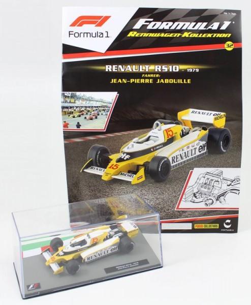 Formula 1 Rennwagen-Kollektion 32: Jean Pierre Jabouille (Renault RS10)