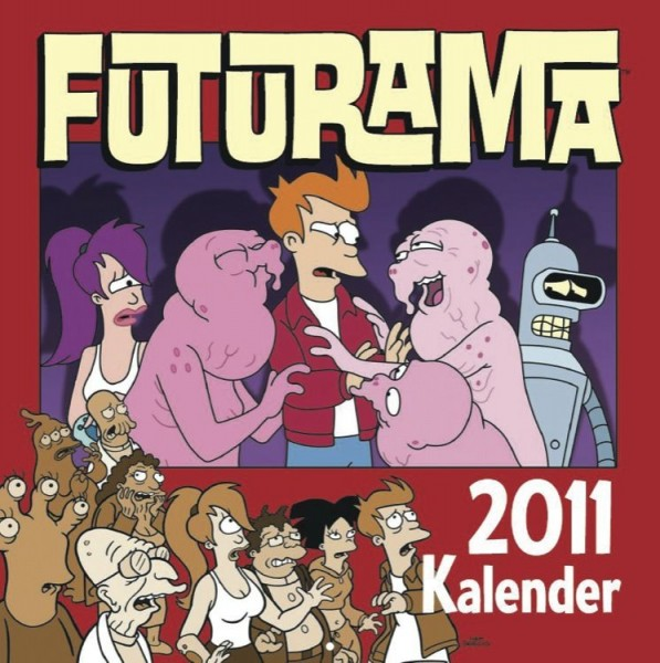 Futurama - Wandkalender (2011)