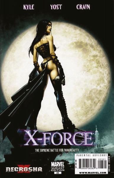 X-Men Sonderband - X-Force 7 - Necrosha 2 Variant