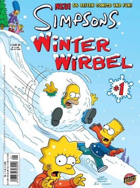 Simpsons: Winter-Wirbel 1