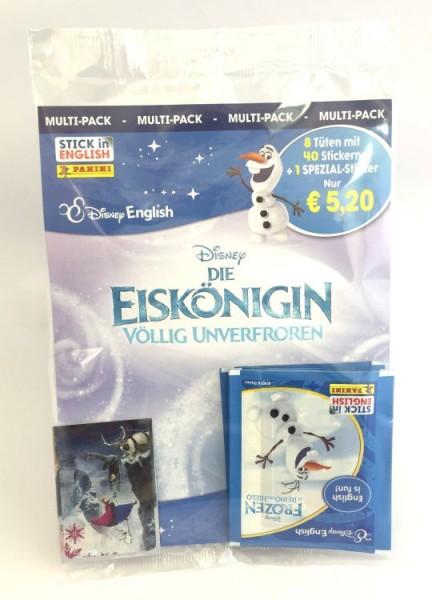Disney: Die Eiskönigin - Völlig unverfroren Stickerkollektion - Multipack