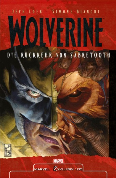 Marvel Exklusiv 105: Wolverine vs. Sabretooth