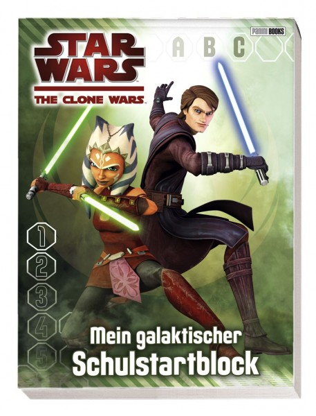 Star Wars: The Clone Wars - Schulstartblock