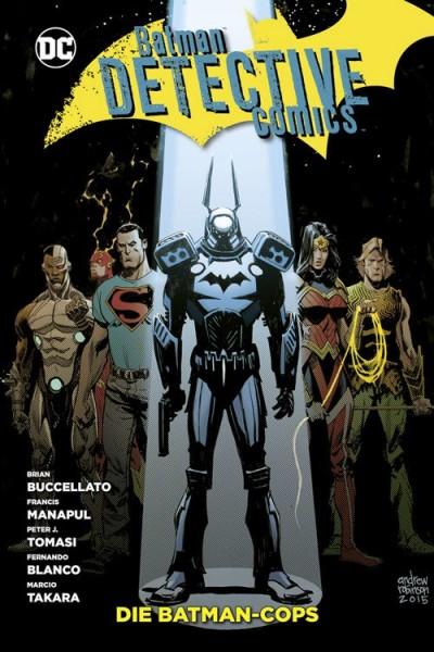 Batman Detective Comics 8: Die Batman-Cops Hardcover