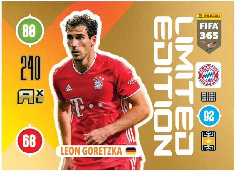 Panini FIFA 365 Adrenalyn XL - Limited Edition Card Leon Goretzka