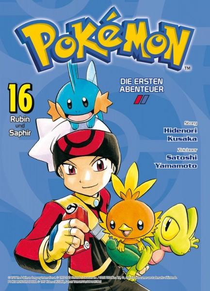 Pokémon - Die ersten Abenteuer 16: Rubin und Saphir