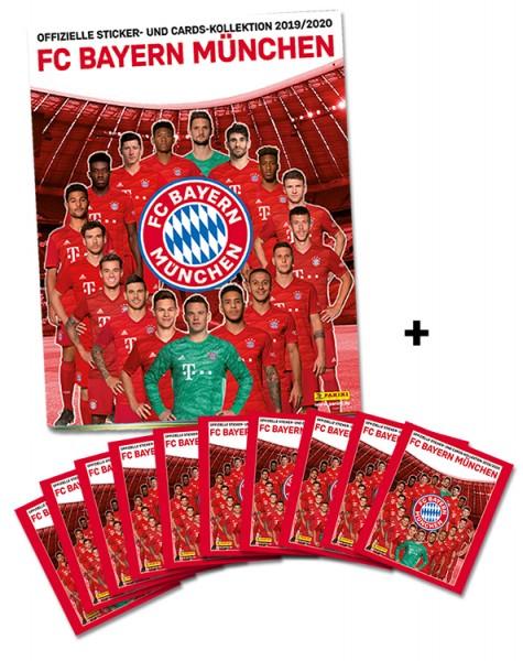 FC Bayern München: Offizielle Sticker- und Cards-Kollektion 2019/2020 - Minibundle