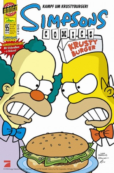 Simpsons Comics 95