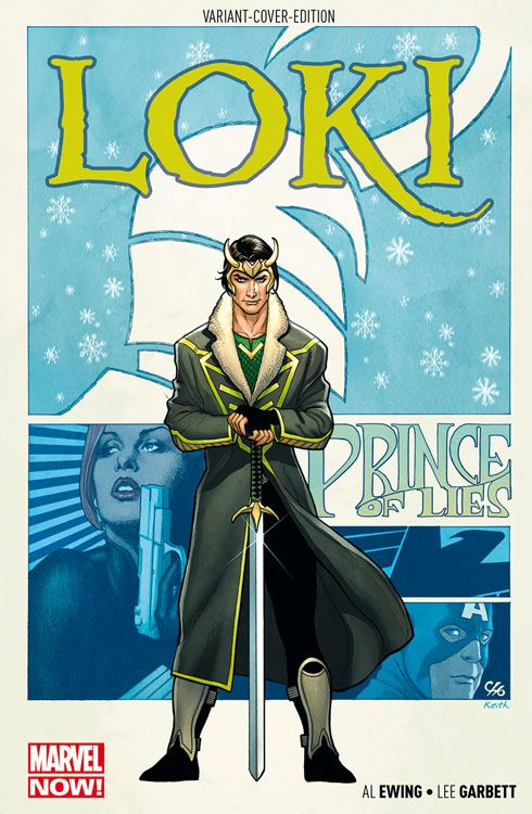 Loki 1: Liebesgrüsse aus Asgard Variant
