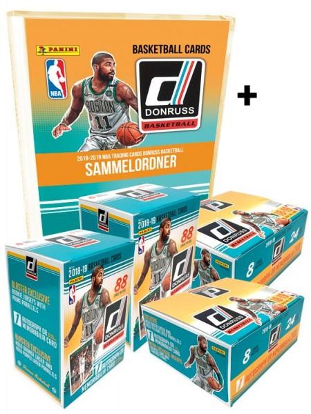 NBA 2018-2019 DONRUSS Trading Cards - Double-Double Bundle