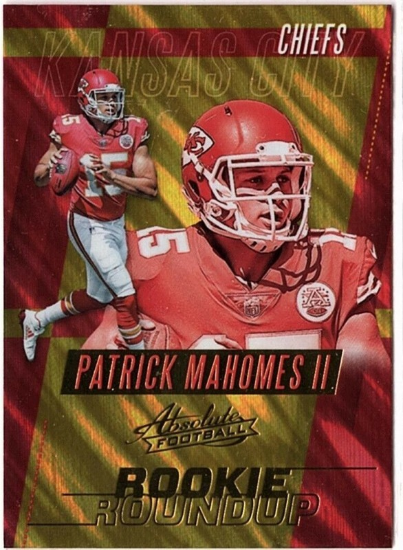 Absolute Football Patrick Mahomes Card