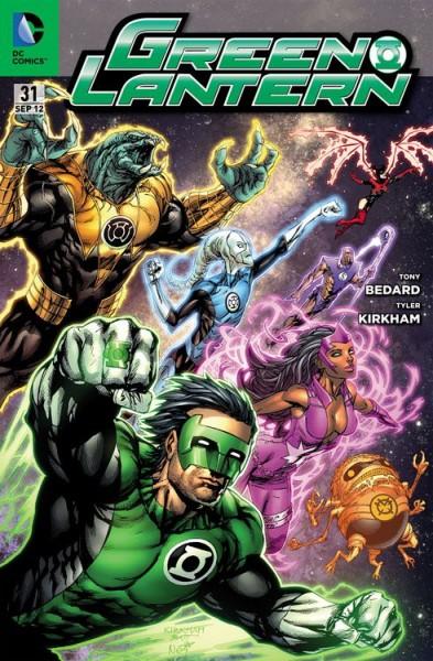 Green Lantern Sonderband 31 Variant