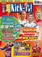 Just Kick-it! Magazin 08/20 Cover