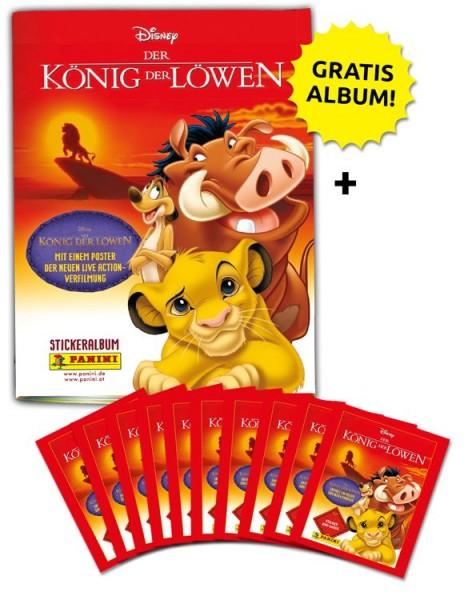 Disney der König der Löwen Stickerkollektion – Schnupperbundle