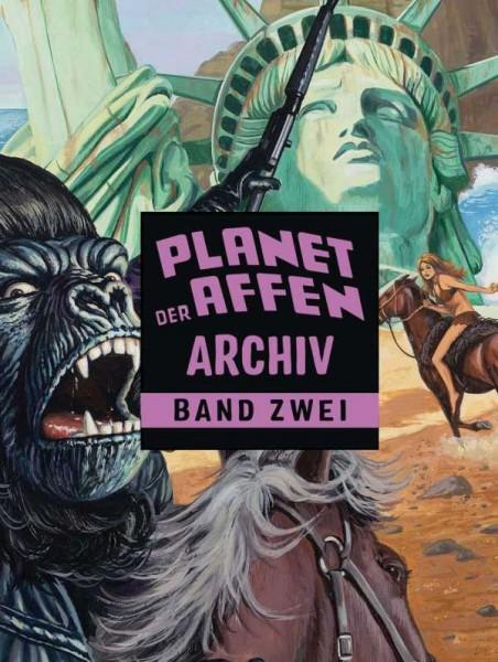 Planet der Affen Archiv 2 Cover