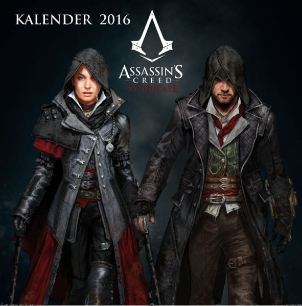 Assassin's Creed - Wandkalender (2016)