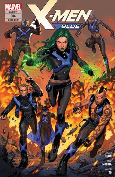 X-Men: Blue 4 - Zu den Waffen