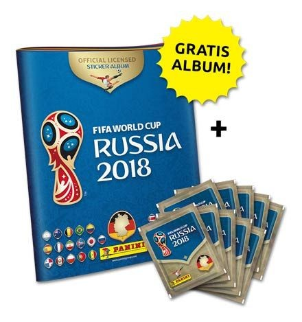 2018 FIFA World Cup Russia Stickerkollektion – Starterbundle 1