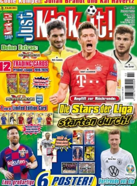 Just Kick-it! Magazin 02/20