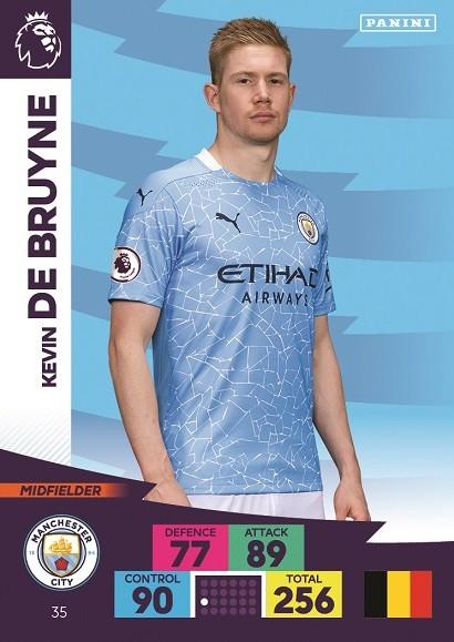 Panini Premier League Adrenalyn XL 2020/21 - Kevin de Bruyne