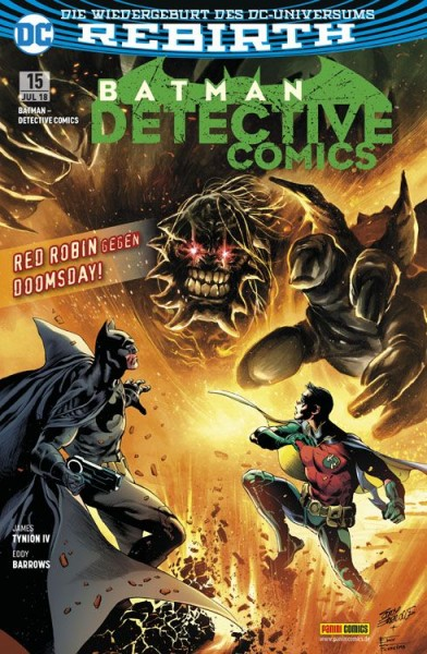 Batman: Detective Comics 15