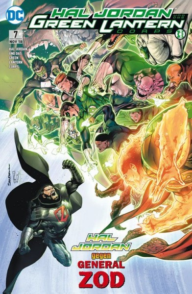 Hal Jordan und das Green Lantern Corps 7