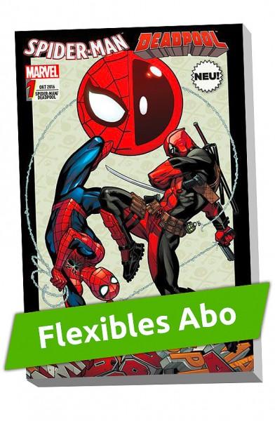 Flexibles Abo - Spider-Man/Deadpool