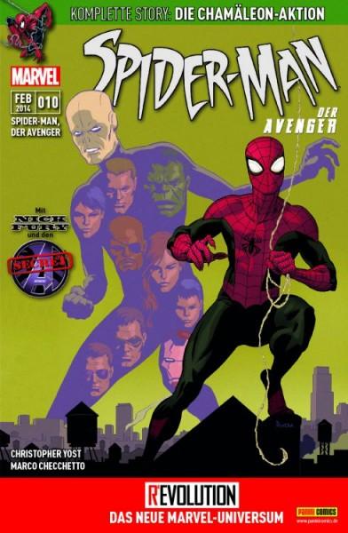 Spider-Man, der Avenger 10