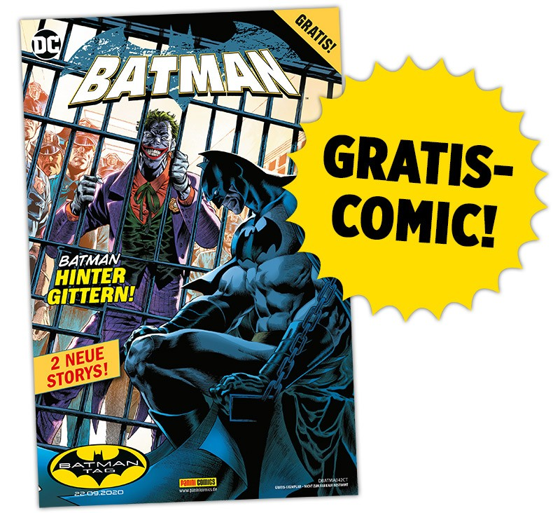 Batman-Tag Gratis-Comic